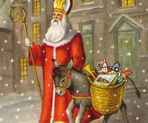 Babbo Natale E San Nicola.Oggi San Nicola Il Vero Volto Di Babbo Natale Lab Tv