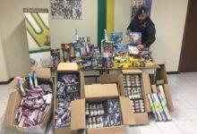 Avellino|La Gdf sequestra 280 kg di fuochi d'artificio in un negozio di via Tagliamento
