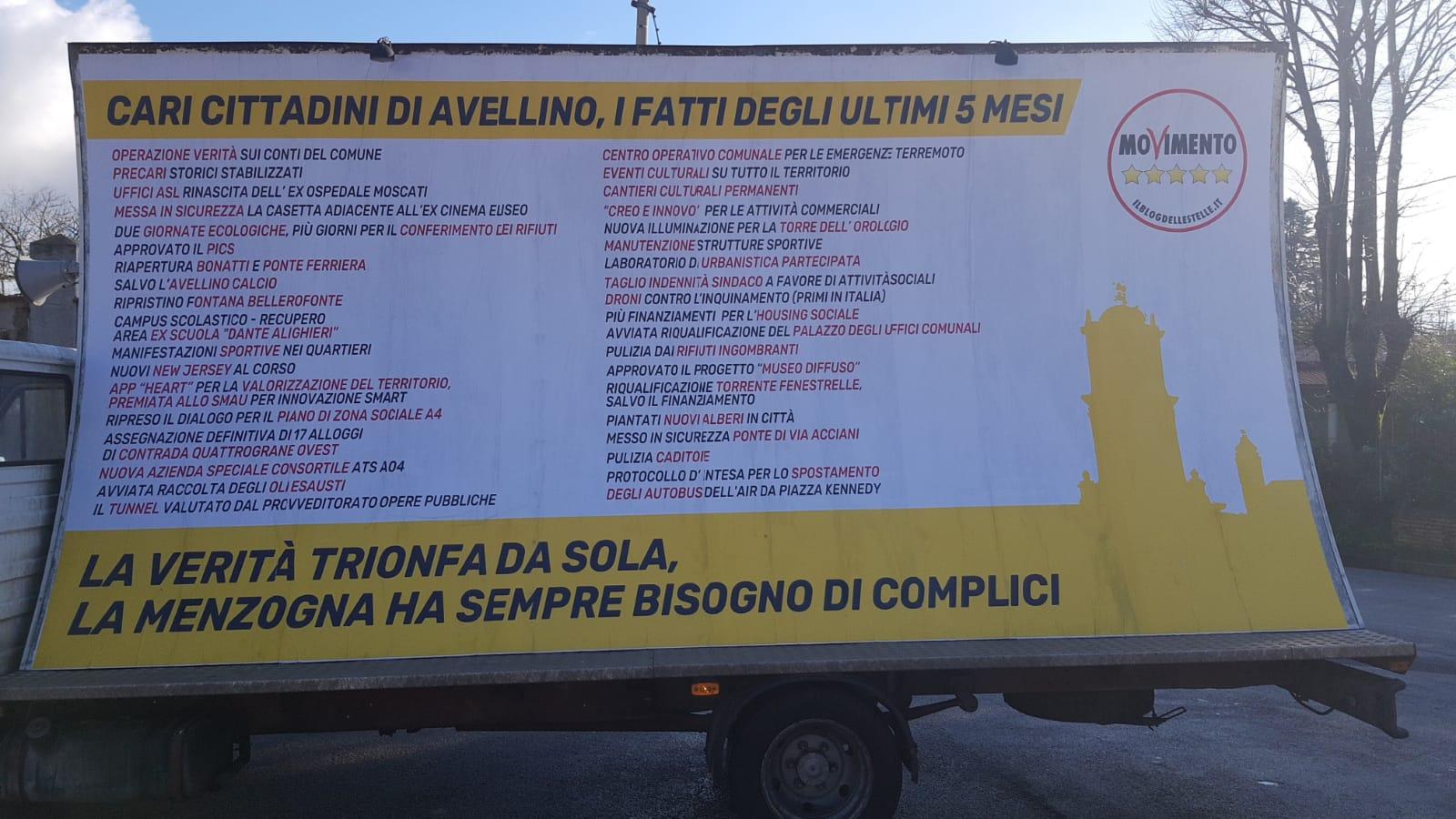 Avellino| La vela del M5S contestata dall'ex Guidi: l'ex Moscati una nostra battaglia