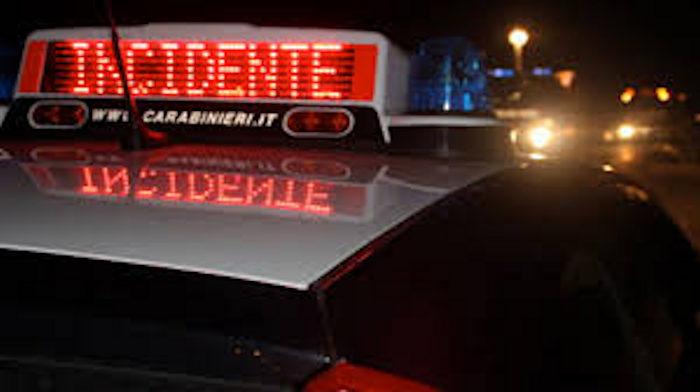 Incidente a Campoli del Monte Taburno, arrestato 18enne alla guida