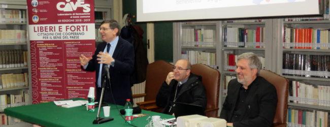 Benevento| CIVES: due incontri il 27 e 28 marzo rispettivamente con Carlotta Sami e Carlo Borgomeo