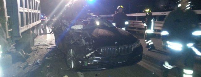 Benevento| Incidente stradale Tangenziale Ovest: feriti padre e figlia
