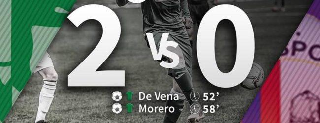 De Vena – Morero nella ripresa: l'Avellino batte il Ladispoli