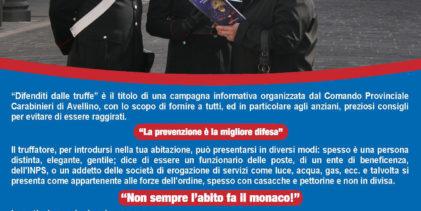 Montemarano| Finto corriere truffa un'anziana, incassa i soldi e scappa via: indagini dei carabinieri