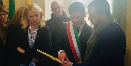 Rubano ricevuto dal Ministro Salvini