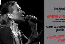 Avellino| Teatro Gesualdo, domani c'è il concerto-spettacolo di Lina Sastri