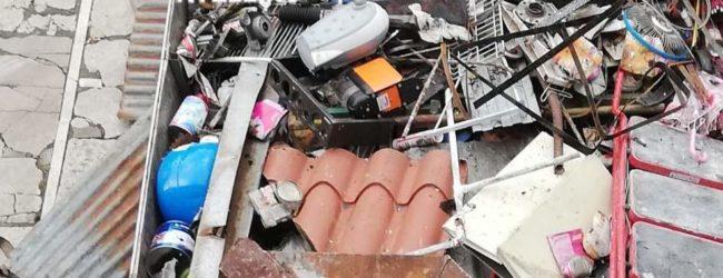 Conza della C.  Raccolta e trasporto illeciti di rottami ferrosi, denunciato 25enne