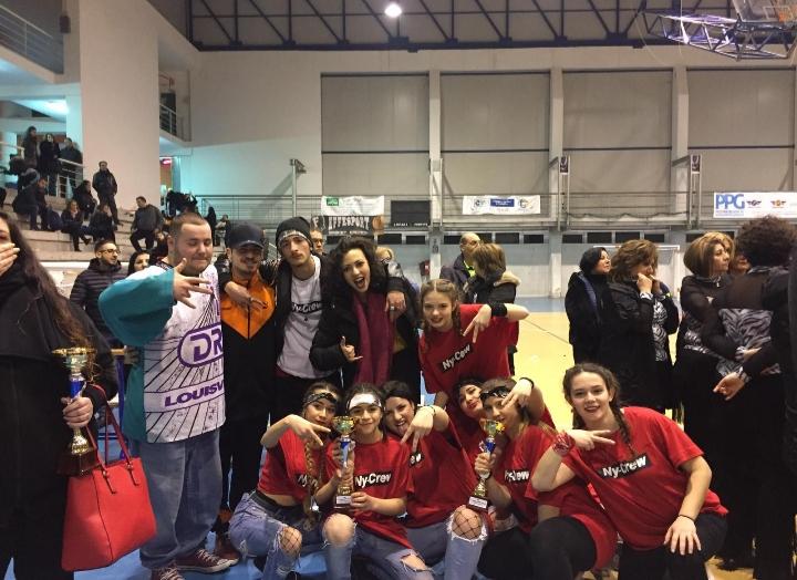 Seconda tappa Coppa Italia,successo per la Dancing on the World