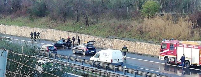 Scontro tra due auto sulla Telesina,due donne ferite