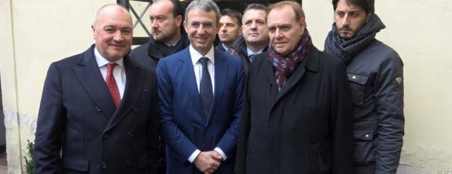 Benevento| Il Ministro Costa visita il fossile Ciro: noi ci crediamo