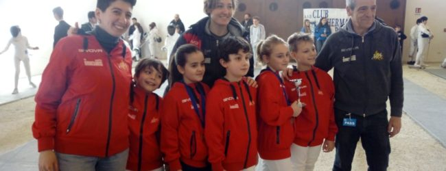 Benevento  Accademia Olimpica, bilancio positivo ai campionati regionali giovanili di spada