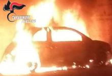 Taurano| Fiat 500 data alle fiamme nella notte, un altro veicolo incendiato in 2 giorni