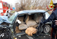 S. Mango sul Calore  Incidente sulla vecchia Ofantina tra un furgone e 3 auto, 3 feriti al Moscati