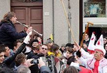 Montemarano  Carnevale delle Culure, 2 serate con Bennato e la Tarantella più lunga della storia