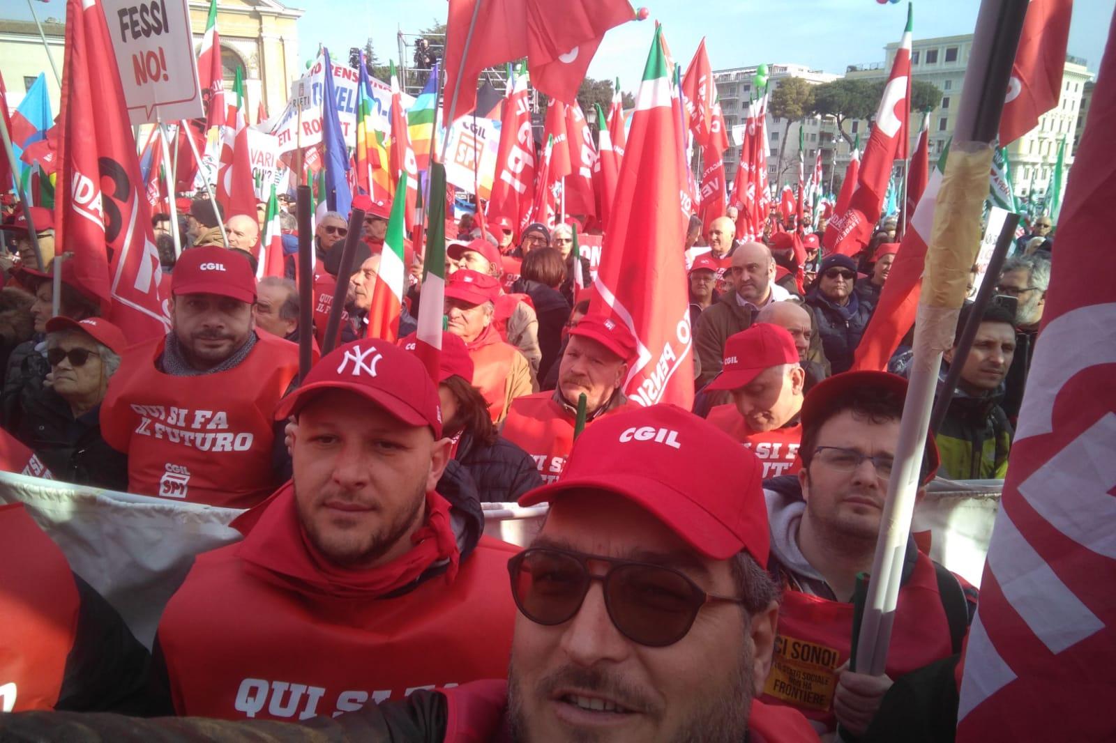 Avellino| Cgil a Roma, Fiordellisi: necessaria una Carta dei diritti universali del Lavoro