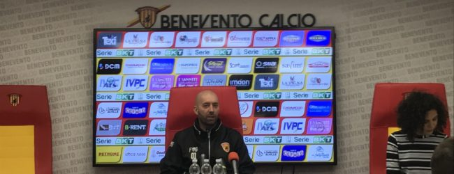 """Benevento, Bucchi: """"Vincere solo il derby non basta. Serve continuità"""""""