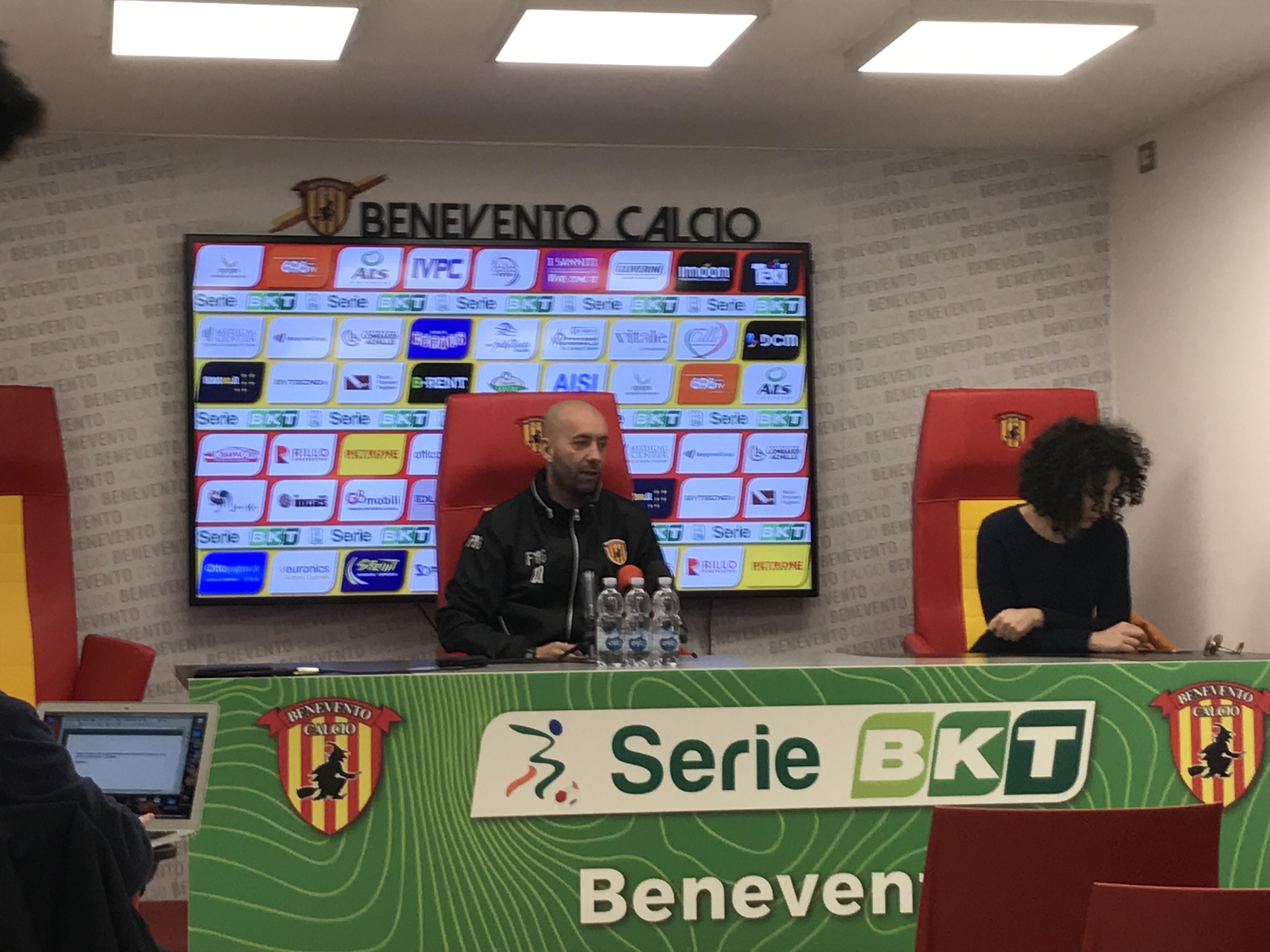 """Benevento, Bucchi: """"La mia squadra ora è matura. Basta esperimenti, gioca solo chi sta bene"""""""