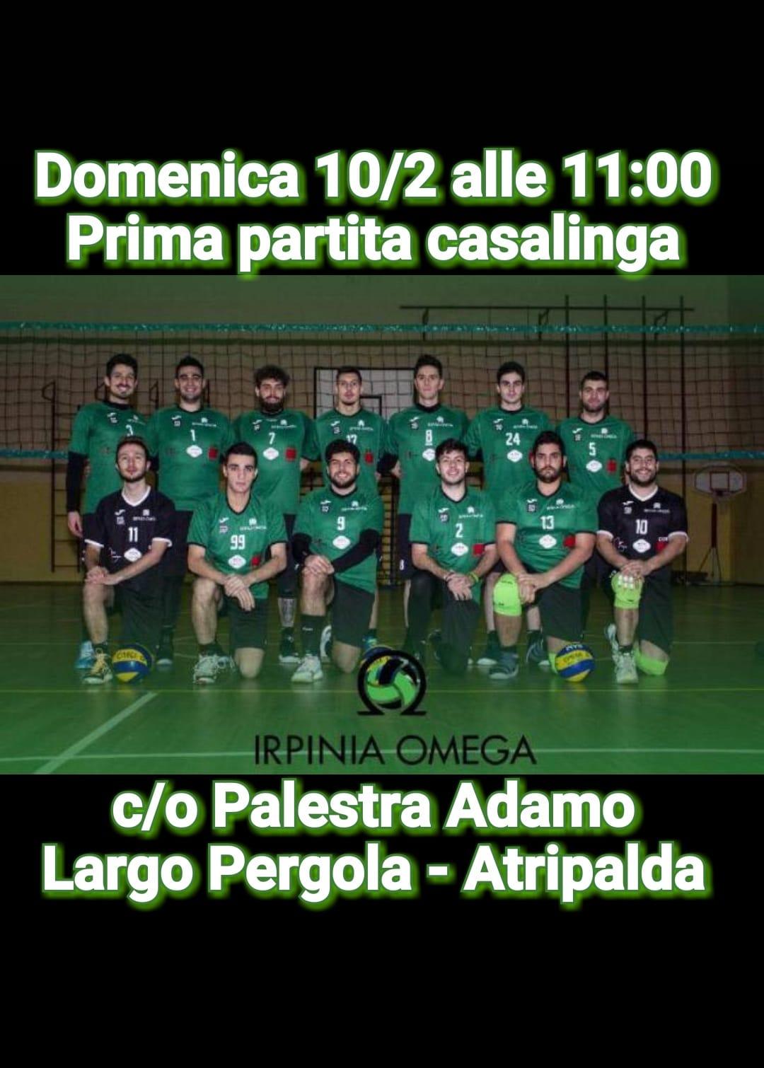 Atripalda  Volley, prima in casa per l'Irpinia Omega: domani c'è il Caffè Vergnano