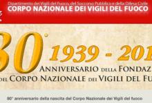 Ad Avellino la prima tappa dei festeggiamenti per gli 80 anni dei Vigili del Fuoco