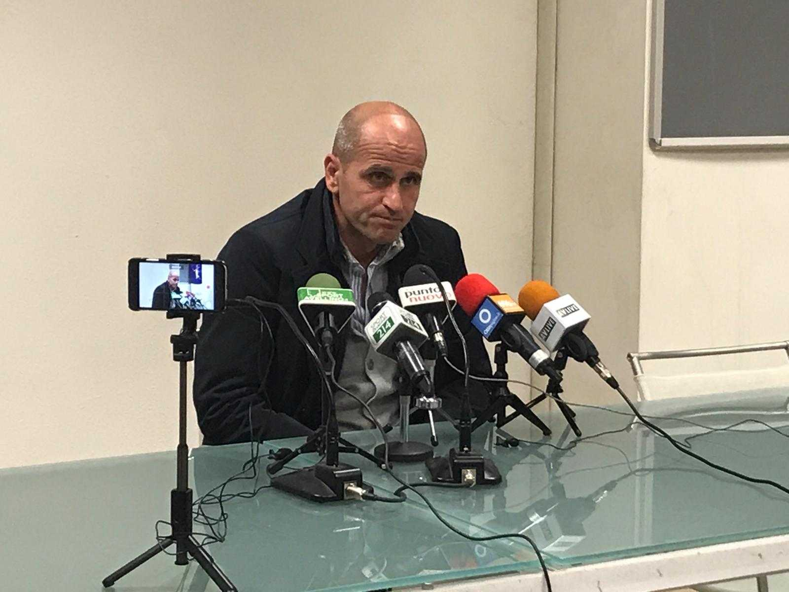 """Avellino, Bucaro: """"La sosta mi preoccupa, ma stiamo attraversando un momento positivo"""""""