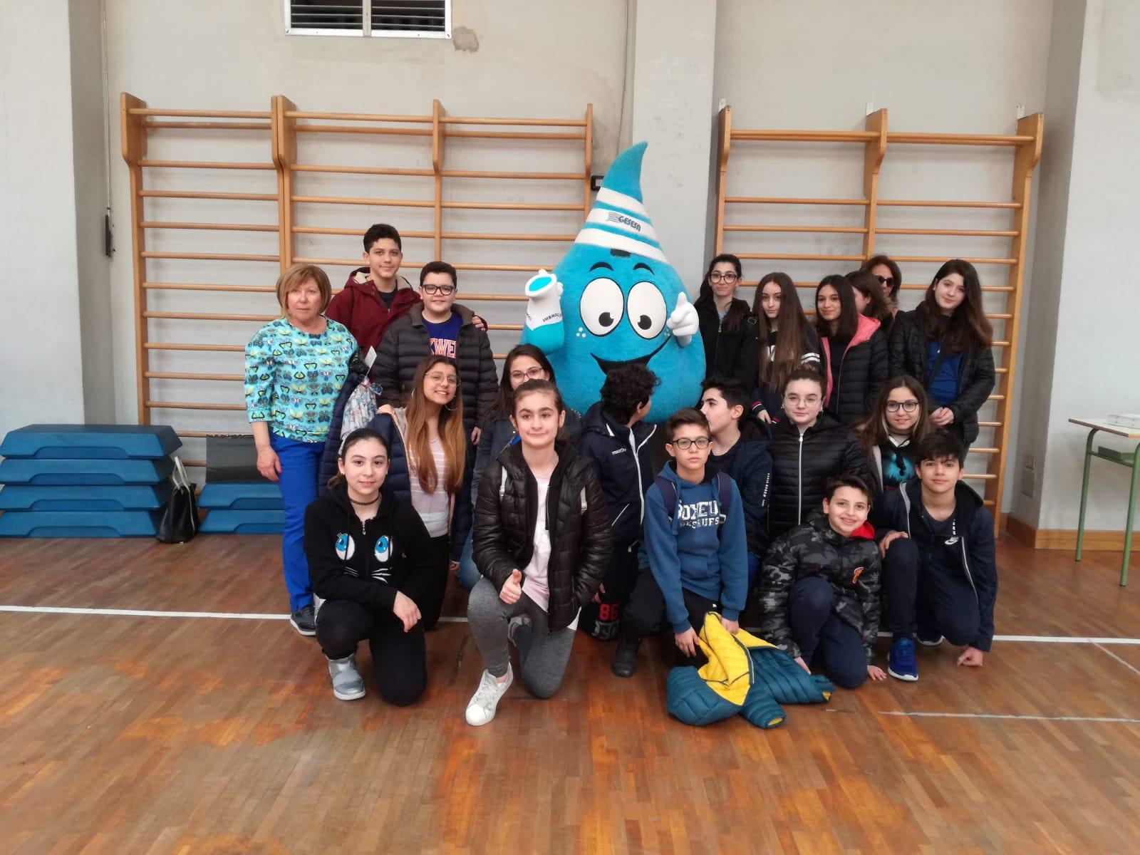 """Benevento  All'Istituto """"De La Salle"""" la Giornata mondiale dell'acqua"""