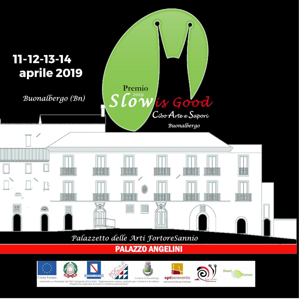 Buonalbergo: Premio Slow is Good, oggi alle ore 18:00 Palazzo Angelini