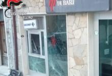 Andretta| Esplosivo nel bancomat della Popolare di Bari, ladri fuggiti col bottino