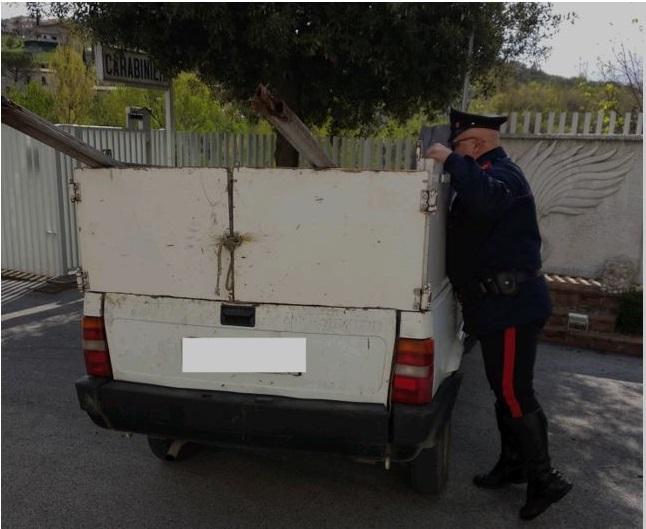 Cerreto Sannita| Gestione illecita di rifiuti, foglio di via per  un 41enne rumeno