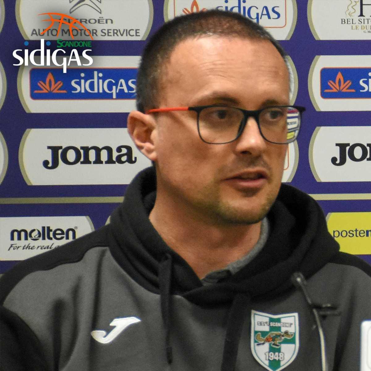 """Sidigas, coach Maffezzoli: """"Da qui alla fine dovremo essere dei veri lupi"""""""