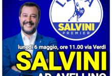 Avellino  Elezioni, lunedì Salvini in città per lanciare Biancamaria D'Agostino