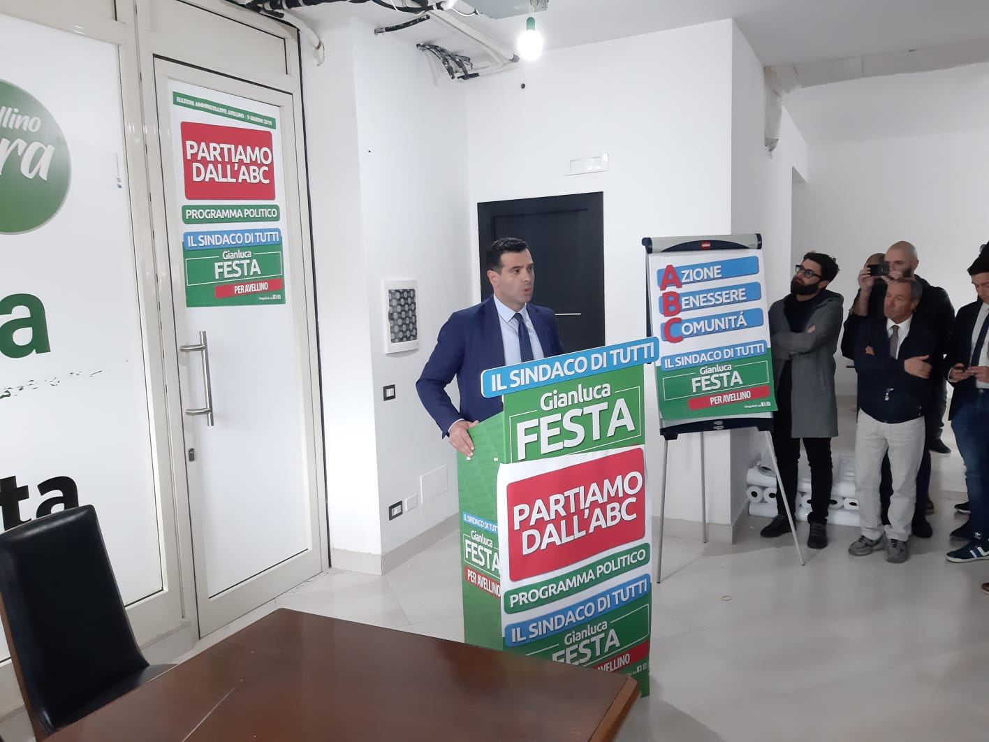 Avellino| Elezioni, Festa: è stata la vittoria del cuore della città, saranno 5 anni fantastici