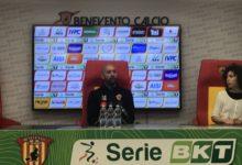 """Benevento, Bucchi: """"Siamo carichi. Il gruppo la nostra forza"""""""