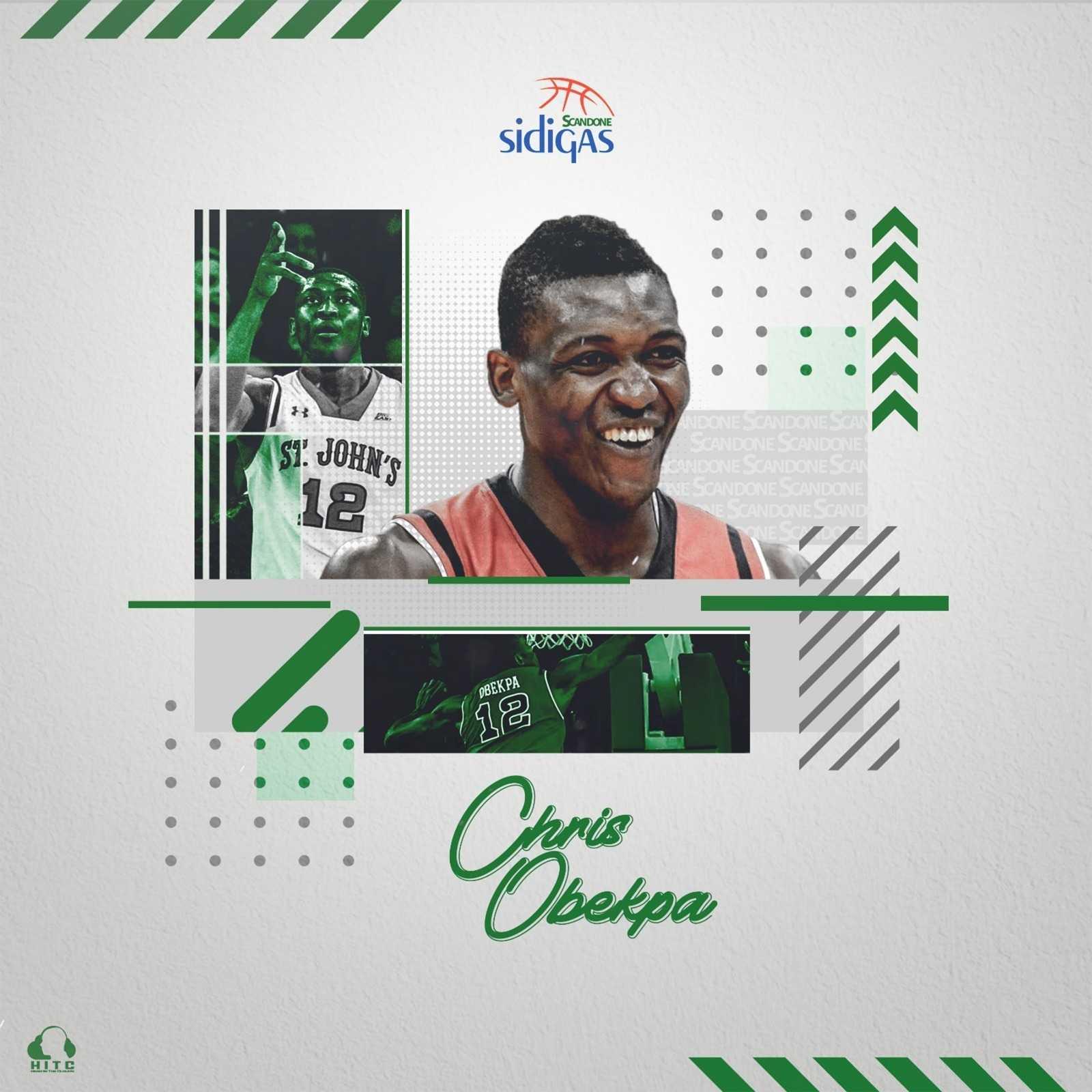 Basket| Sidigas, Chris Obekpa è il primo innesto biancoverde
