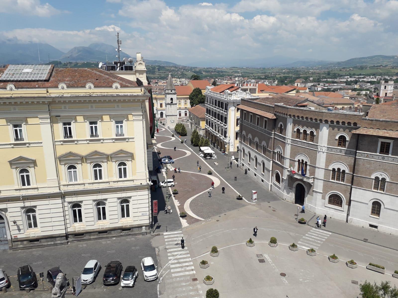 Benevento  Nuovo look per il Corso Garibaldi e zona alta, Pasquariello a Labtv: miglioriamo decoro urbano, vandali permettendo