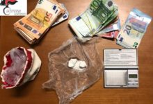 San Giorgio del Sannio| Droga: i Carabinieri arrestano spacciatore in una stanza d'albergo