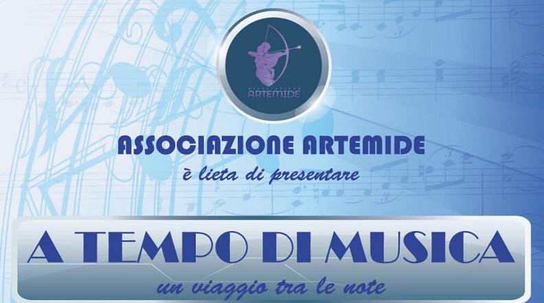 """Pago Veiano  Il 30 Giugno si terrà lo spettacolo musicale """"A Tempo di Musica: un viaggio tra le note"""" promosso dall'Associazione Artemide"""