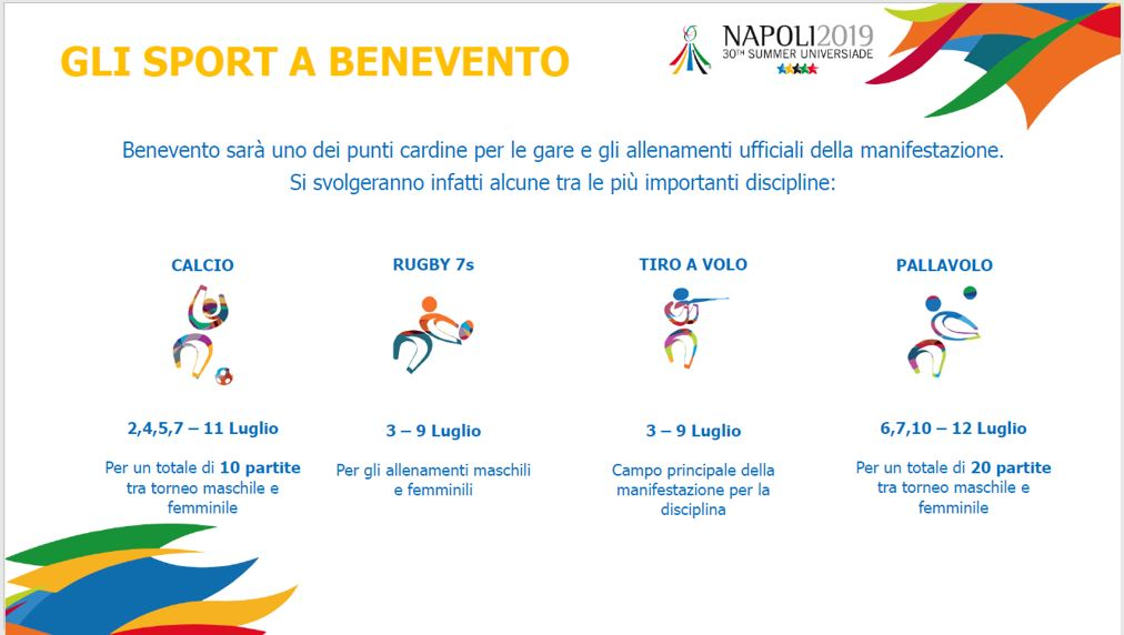 UNIVERSIADI BENEVENTO