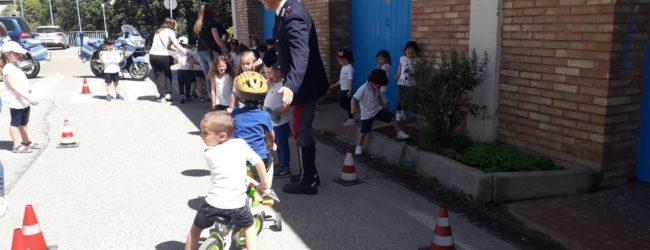 Benevento| Piccoli alunni a lezione di sicurezza stradale