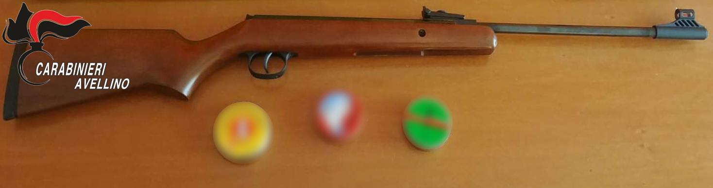 Atripalda| Litiga con il vicino e lo spara con una carabina ad aria compressa, 28enne nei guai
