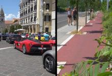 Ferrari e incuria, le due facce di Benevento