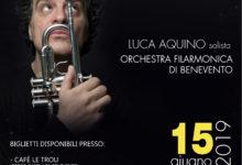 "Benevento| Luca Aquino presenta ""Italian Songbook"", sabato appuntamento all'Arco del Sacramento con l'OFB"