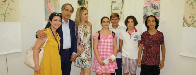 Benevento| Opere d'arte di Nanchino alla Biblioteca provinciale