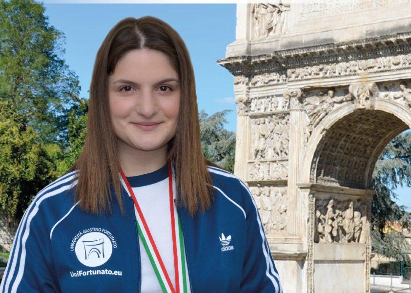 Universiade, medaglia di bronzo nel tiro a segno per la sannita Maria Varricchio