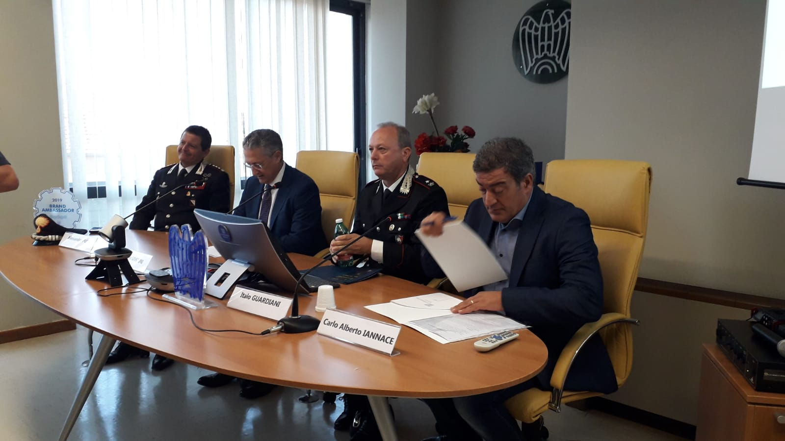 Benevento| Carabinieri e tutela ambiente: focus a Confindustria