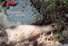 Montella| Ordigno bellico trovato in un fondo agricolo, delimitata l'area di sicurezza