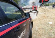 Bagnoli Irpino| Incendio in un fienile, sul posto vigili del fuoco e carabinieri
