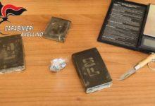 San Sossio Baronia|Sequestrati più di 2 etti e mezzo di hashish, in manette un 43enne