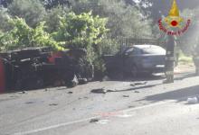 Chiusano San Domenico  Auto contro trattore sulla statale 400, due morti