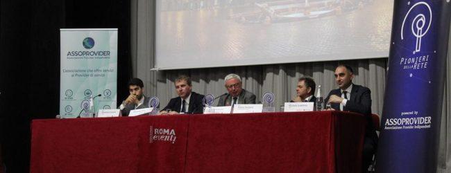 APRO19| Michele Gubitosa (5Stelle) e Franceso Lucianò (Lega) ascoltano le istanze dei piccoli e medi operatori delle tlc