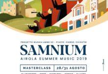 """""""Samnium – Airola Summer Music 2019"""", domani il concerto finale del campus di alta formazione"""